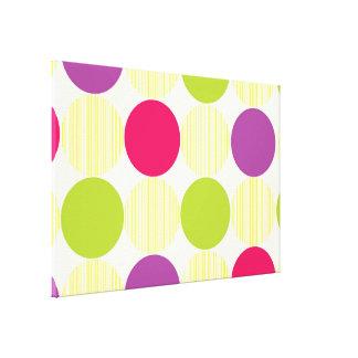 Polka Dots Canvas Prints