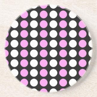 Polka Dots Beverage Coaster