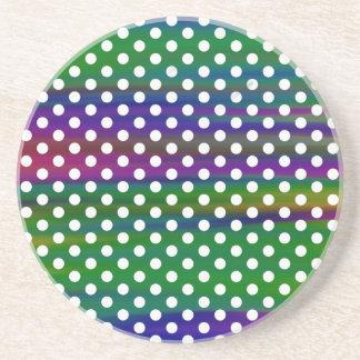 polka-dots coaster