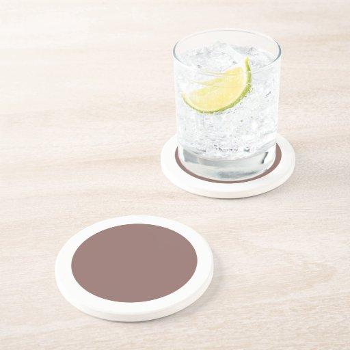 Polka Dots Cognac Drink Coasters
