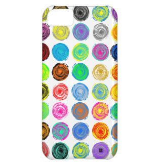 Polka Dots Color Spin iPhone 5Case iPhone 5C Case