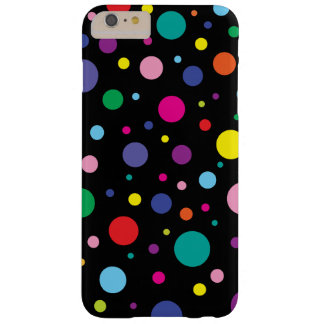 Polka Dots | Customised Background Colour Barely There iPhone 6 Plus Case