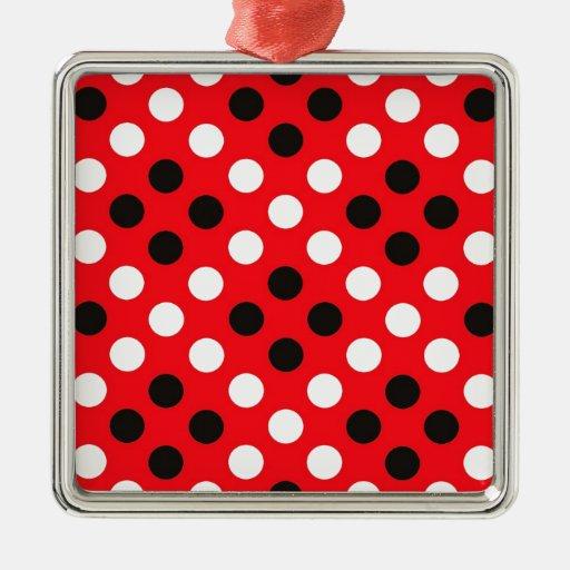 Polka dots ornaments