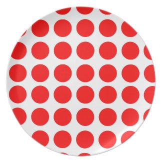 Polka Dots Design Party Plates