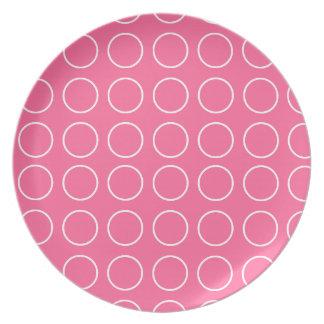 Polka dots Design Plate