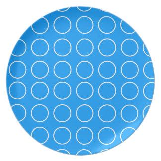 Polka Dots Design Plates