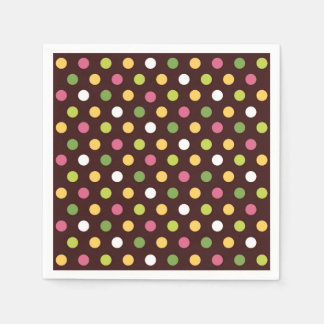 Polka Dots Disposable Napkin