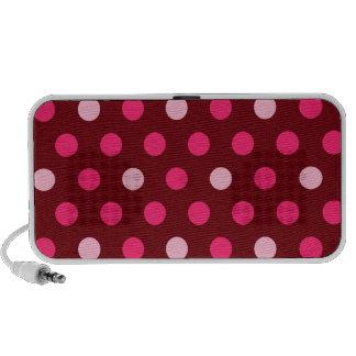 Polka Dots Doodle speakers