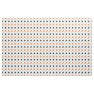 polka dots dotty halloween pattern fabric