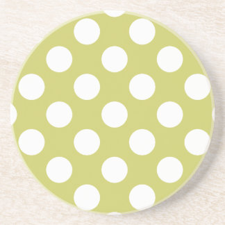 Polka Dots Drink Coasters