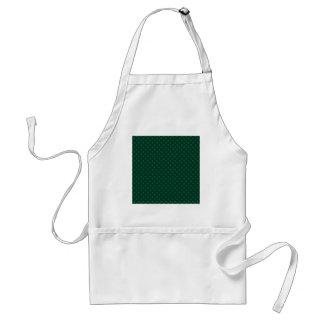 Polka Dots - Green 6b Standard Apron