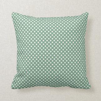 Polka Dots Green American MoJo Pillows Cushion