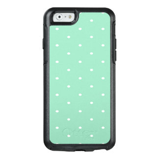 Polka Dots, Green, White OtterBox iPhone 6/6s Case