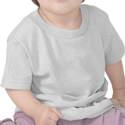 Polka Dots Huge - White on Cream Tshirt