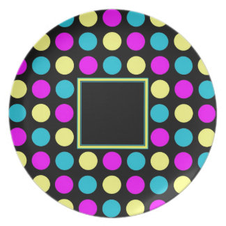 Polka Dots in PBY to Customize Dinner Plates