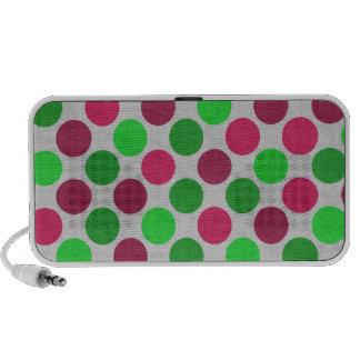Polka Dots iPod Speakers