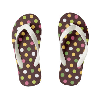 Polka Dots Kid's Thongs