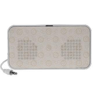 Polka Dots Laptop Speakers