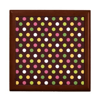 Polka Dots Large Square Gift Box