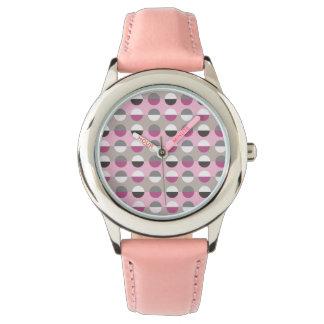 Polka Dots Modern Retro Cool Geometric Attractive Watch
