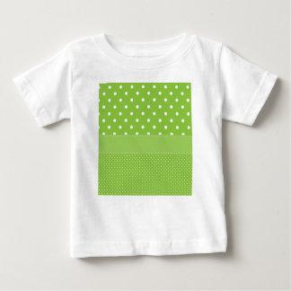 polka-dots on green baby T-Shirt