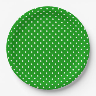 Polka Dots Paper Plate