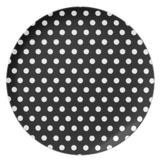 Polka Dots Party Plate