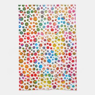 Polka Dots Pattern Tea Towel