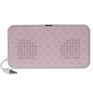 Polka Dots Pink iPod Speakers
