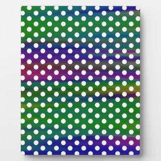 polka-dots plaque