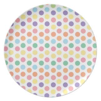 Polka Dots Dinner Plate