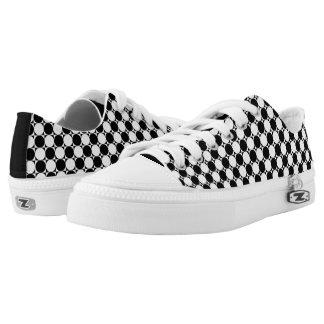 Polka Dots Printed Shoes