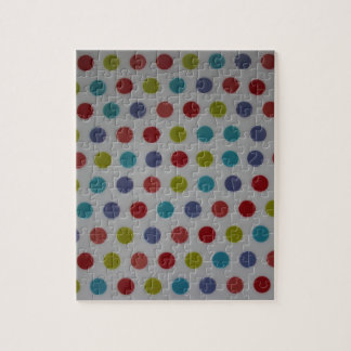 Polka dots products jigsaw puzzle