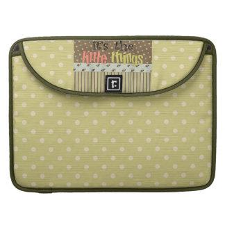 Polka Dots Rickshaw Macbook Pro 15 Laptop Sleeve Sleeve For MacBook Pro
