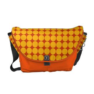 Polka Dots Rickshaw Messenger Bag
