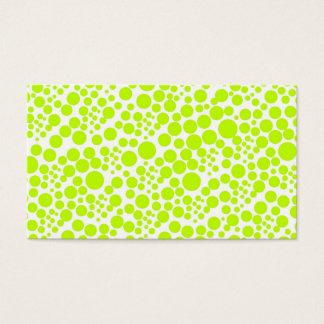 polka dots score pünktchen lines dab business card