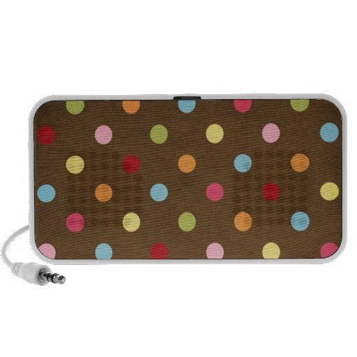 Polka Dots Notebook Speaker