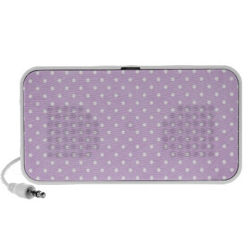 Polka Dots Laptop Speaker