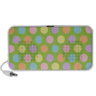 Polka Dots Notebook Speakers