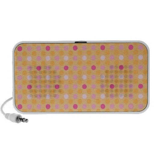 Polka Dots Portable Speaker
