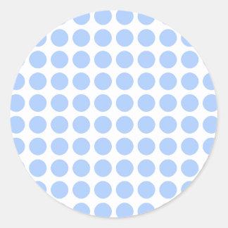 Polka Dots Round Sticker