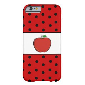 Polka Dots Teacher's Apple iPhone 6 case Barely There iPhone 6 Case