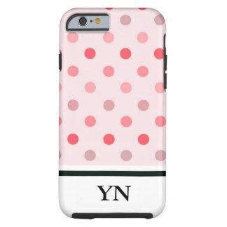 Polka Dots Tough iPhone 6 Case