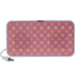 Polka Dots Travelling Speakers