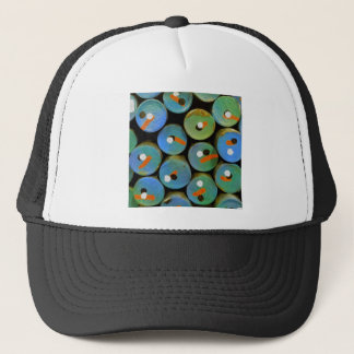Polka dots trucker hat