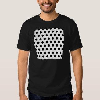 Polka Dots White & Black Tees
