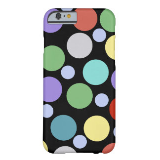 polka dotted colors barely there iPhone 6 case