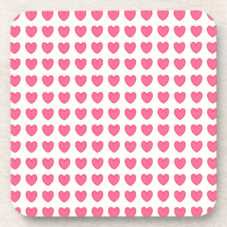 Polka Hearts Coasters