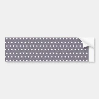 polka hots dots DOT spot dab dabbed baby dots Bumper Sticker