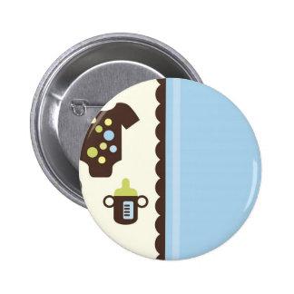 PolkaBSBoyJ3 6 Cm Round Badge